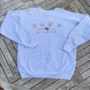 Vintage Champions St. Louis Rams Sweatshirt